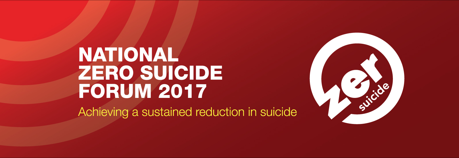 National Zero Suicide Forum 2017